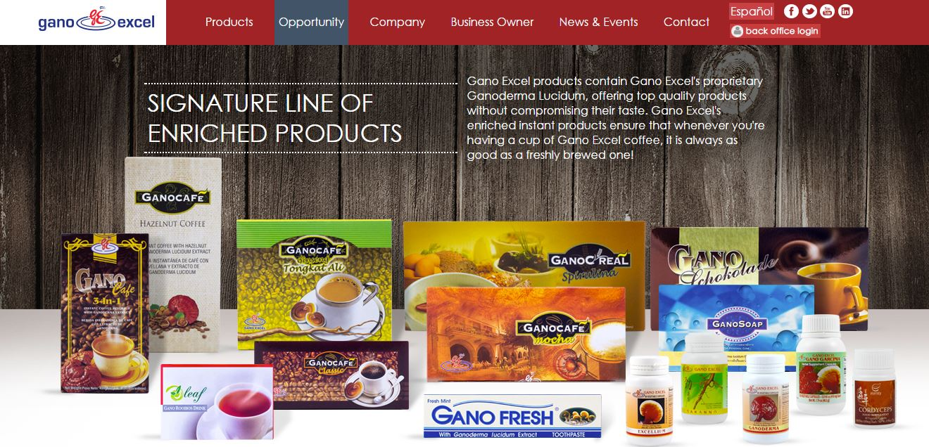 Gano Excel Products for sale