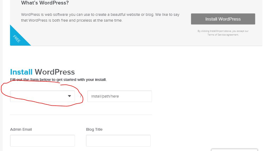 dropdown wordpress 3