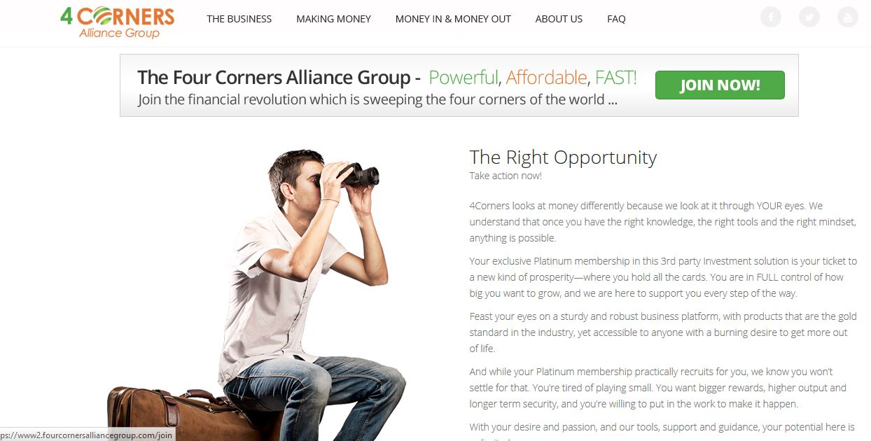 four corners alliance group review