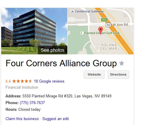 four corners alliance review